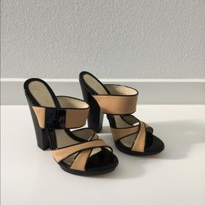 L.A.M.B leather Sandals